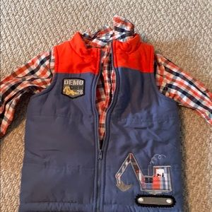 Cherokee shirt plus vest